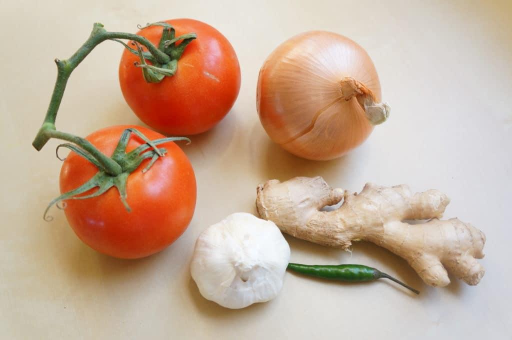 Dal Makhani Instant pot Ingredients