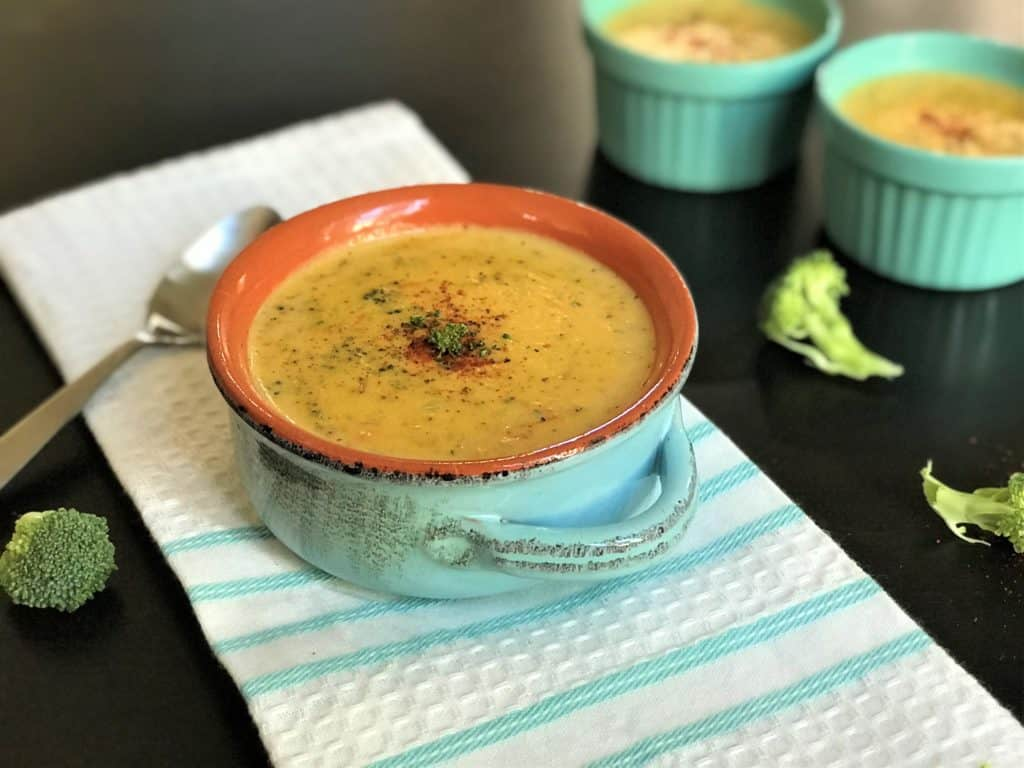 Broccoli Cheddar Soup Instant Pot