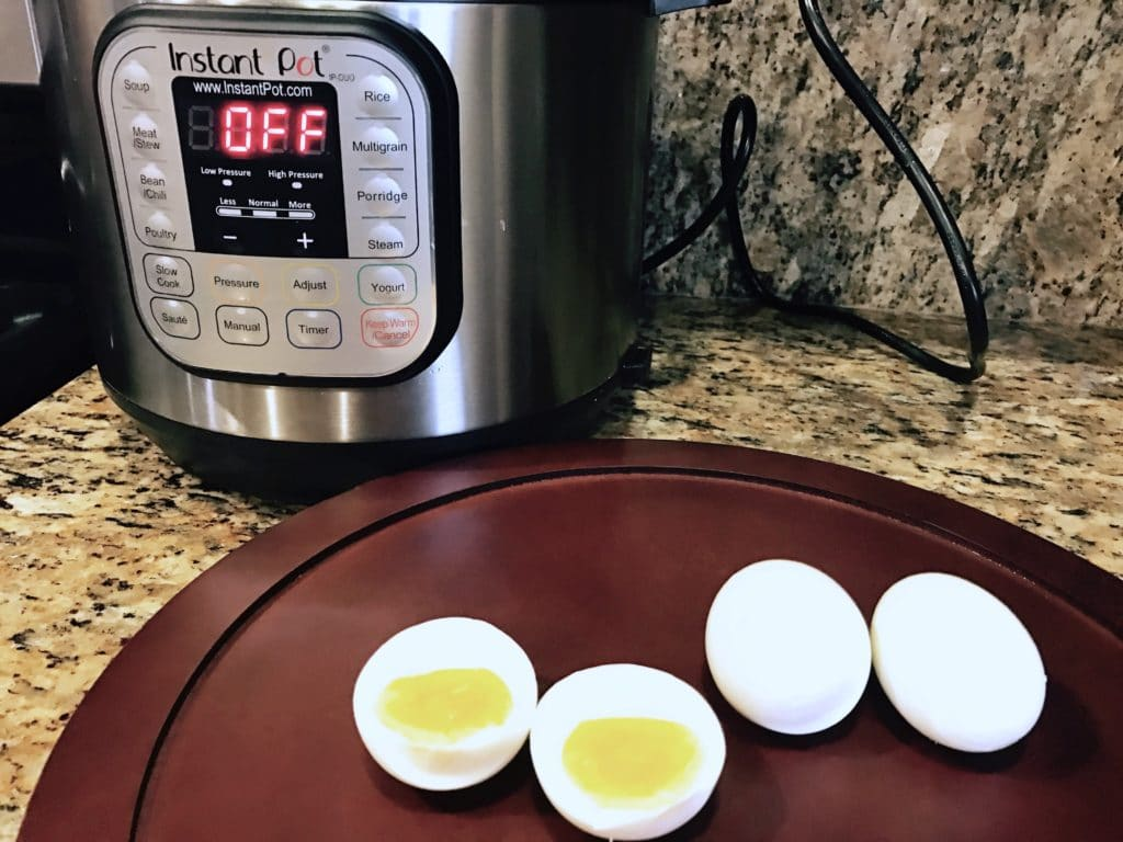 Instant Pot Boiled Eggs