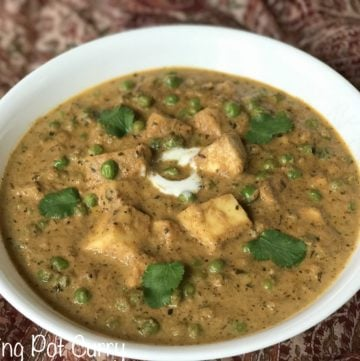 Mutter Paneer Masala – Instant Pot Pressure Cooker