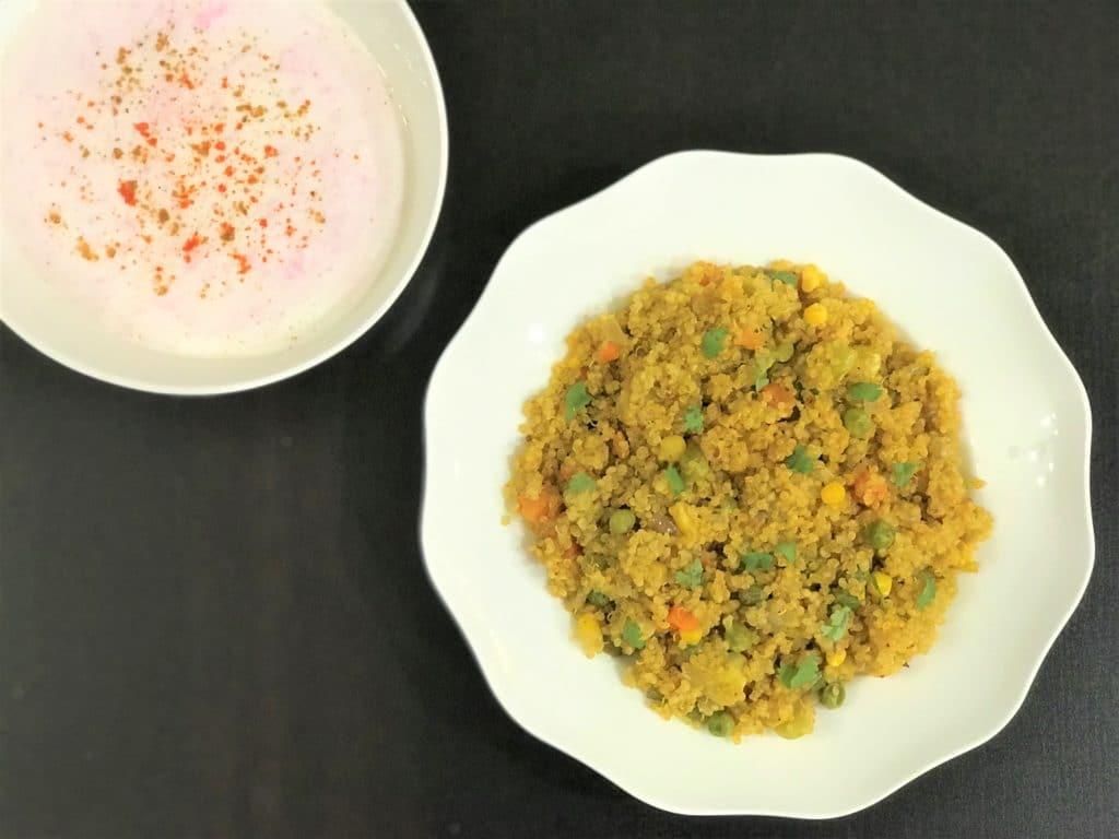 Quinoa & Vegetable Pilaf- Instant Pot Pressure Cooker