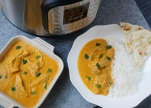 Pressure Cooker Instant Pot Butter Chicken