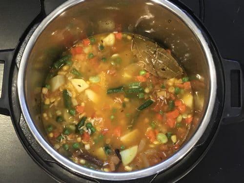 Vegetable Pulao Instant Pot Pressure Cooker