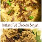 Chicken Biryani in Instant Pot Pressure Cooker