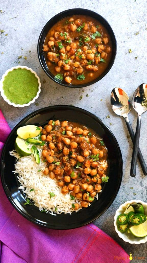 Instant Pot Chana Masala Chole