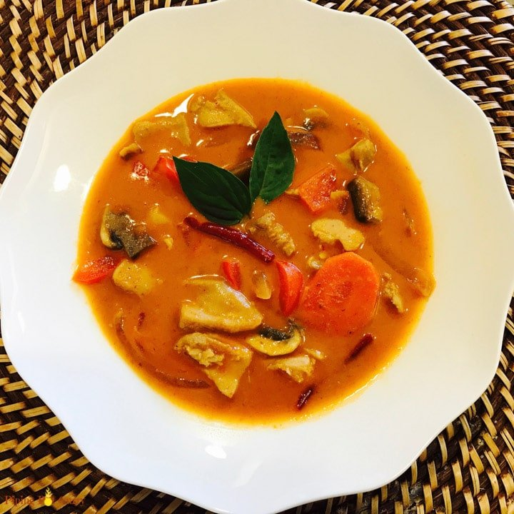 how to cook panang curry