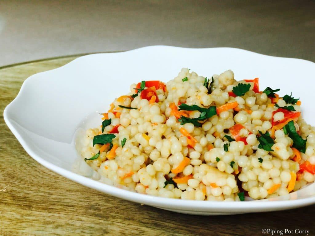 Couscous & Vegetables Medley – Instant Pot Pressure Cooker