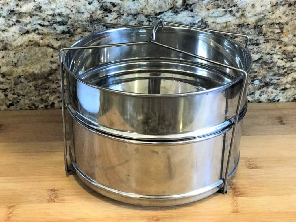 Stackable containers for pot-in-pot PIP