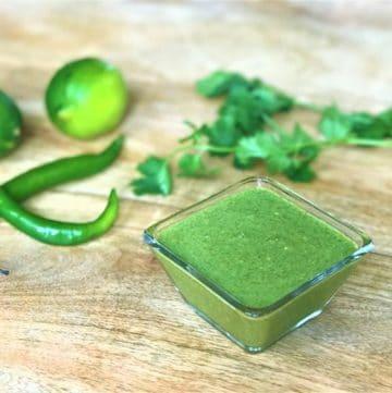 Green Chutney / Mint Cilantro Chutney