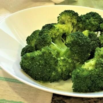 Steamed Broccoli Instant Pot Pressure Cooker