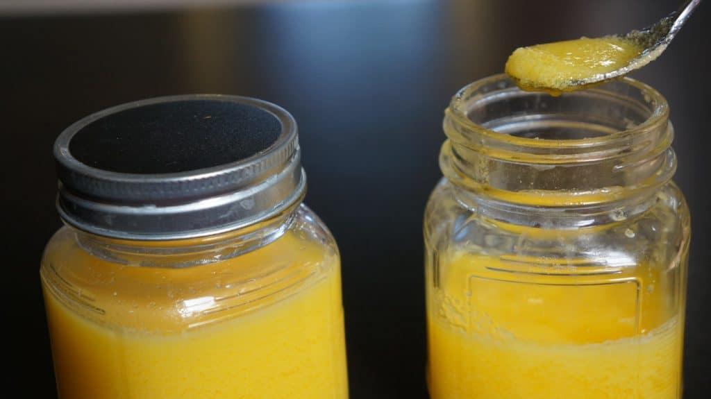 homemade ghee clarified butter instant pot