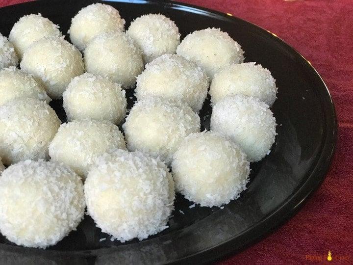 Coconut Almond Laddoo