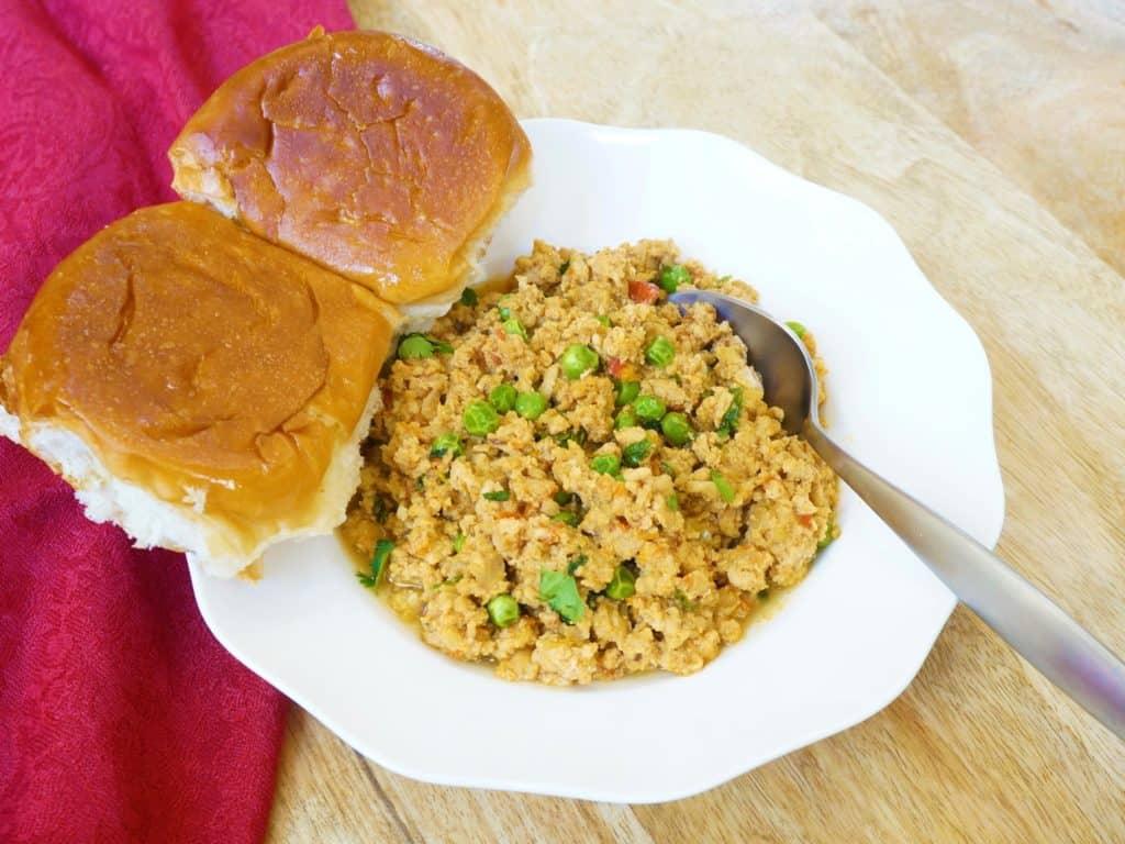 Keema Matar / Ground Chicken Curry – Instant Pot Pressure Cooker