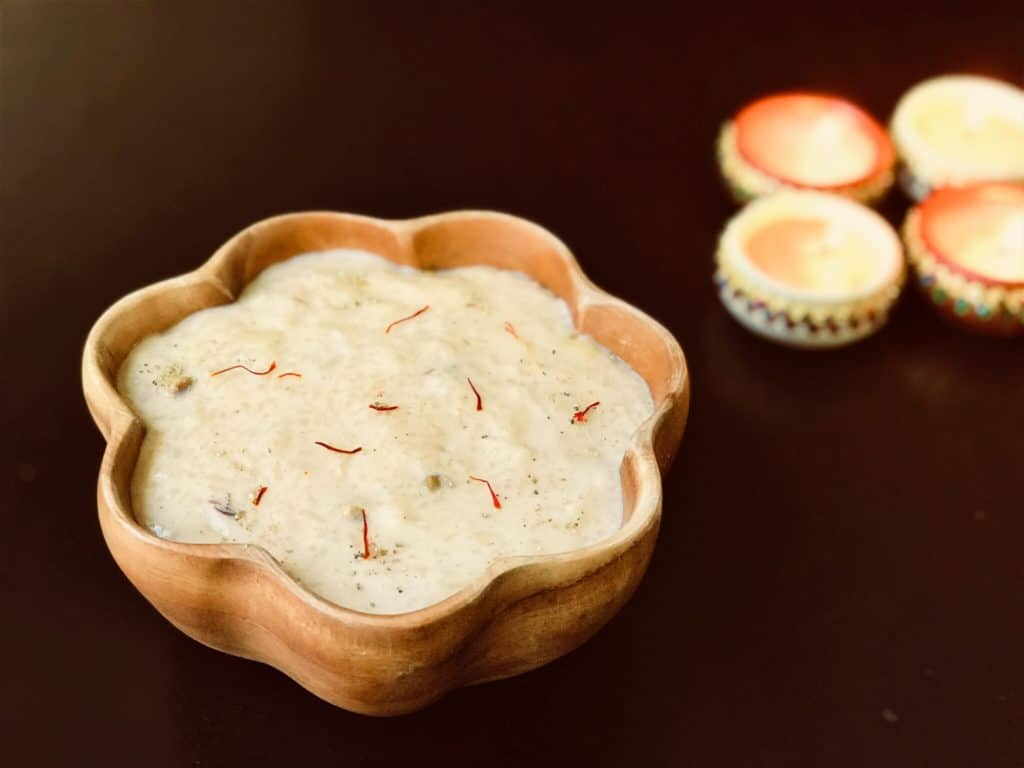 Kheer Rice Pudding instant pot