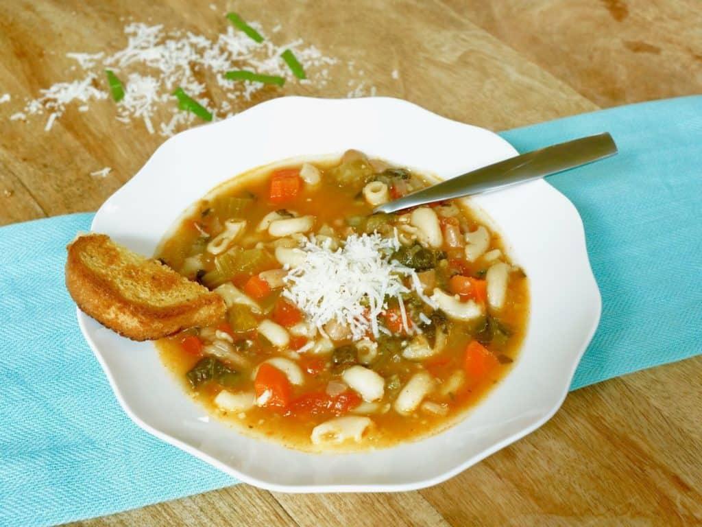 Minestrone Soup – Instant Pot Pressure Cooker