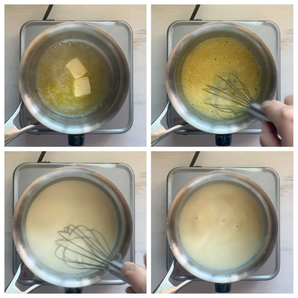 Steps to make a roux