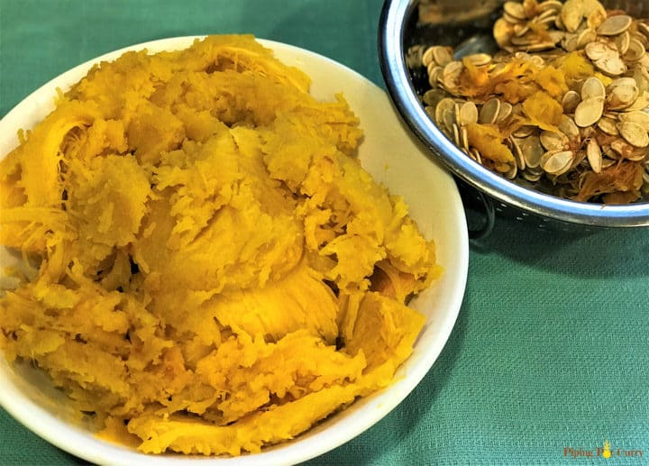 Instant Pot Pumpkin Puree - Pumpkin Pulp