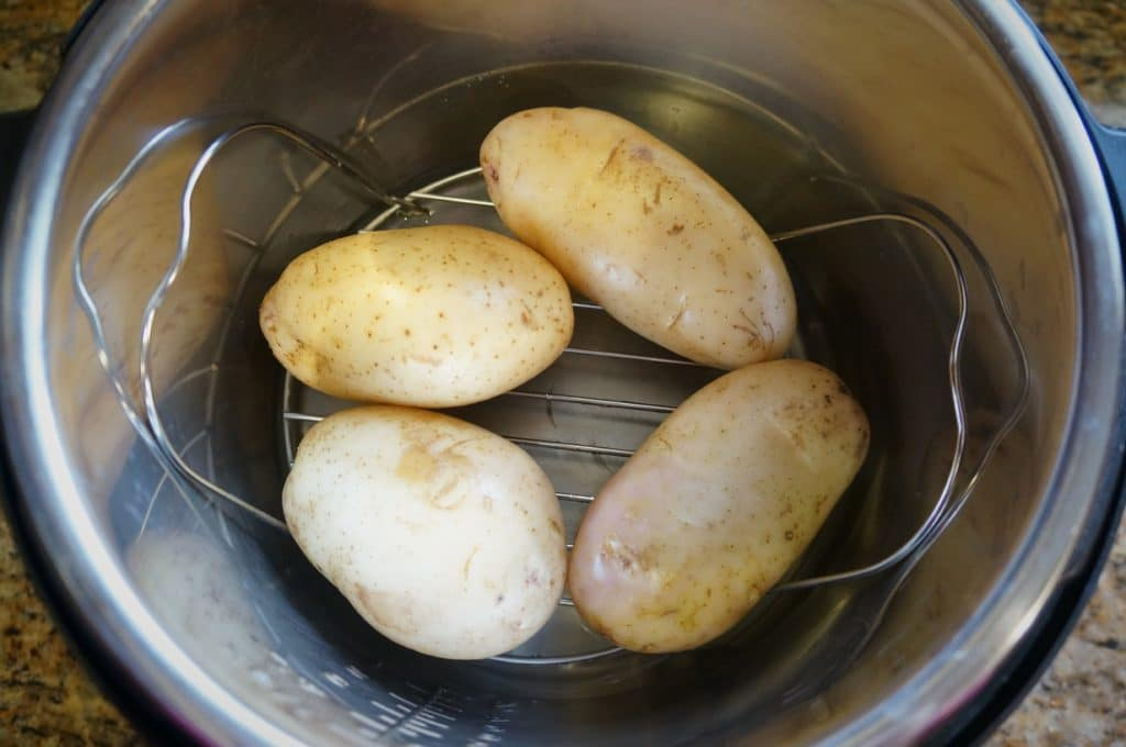 How to steam potatoes in instant pot