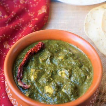 Palak Paneer – Instant Pot Pressure Cooker