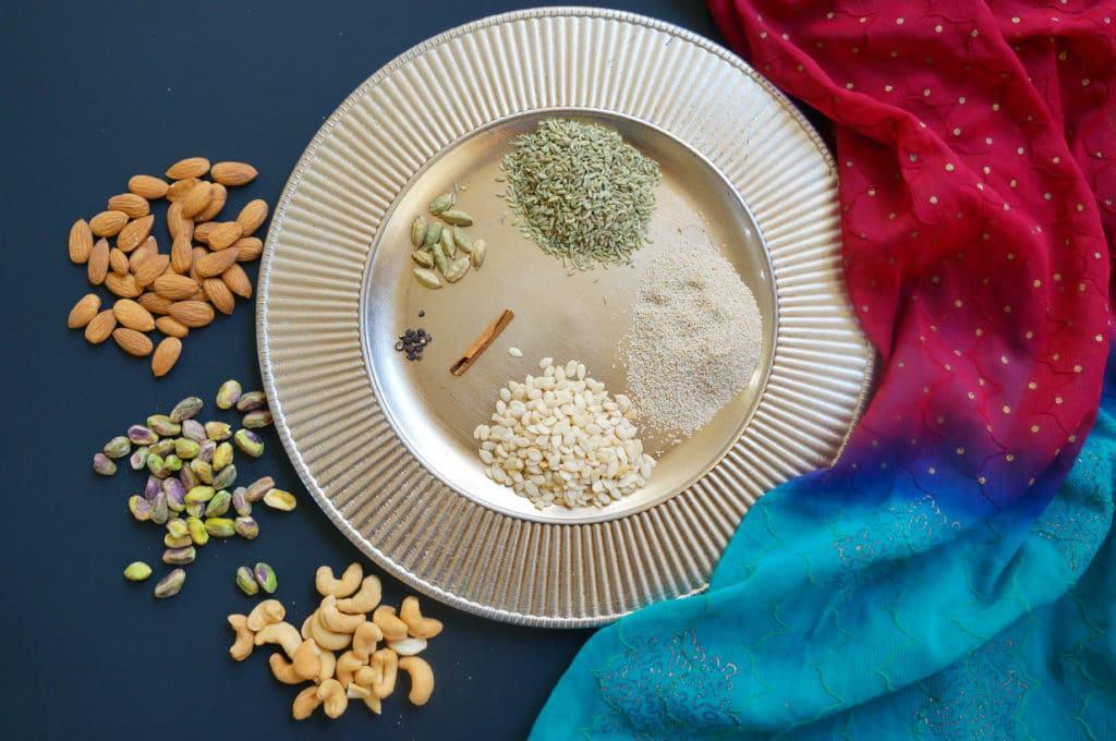 Thandai Powder Recipe Ingredients, How to make Thandai powder