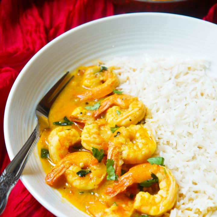 Coconut Shrimp Curry Instant Pot