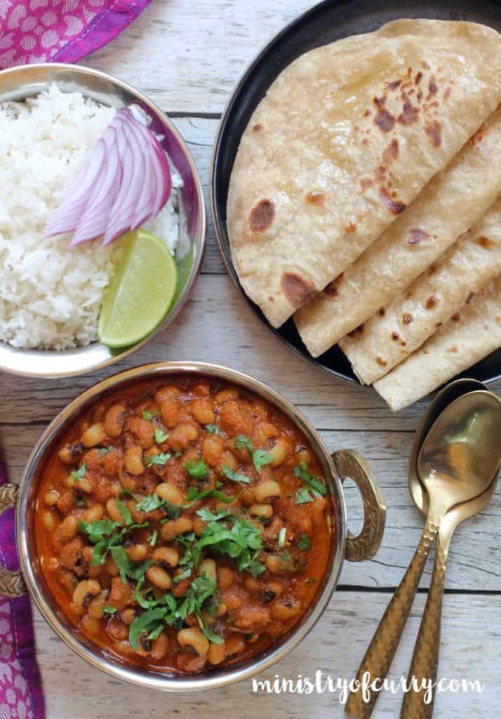 InstantPot_Black Eyed Peas Curry_MinistryOfCurry