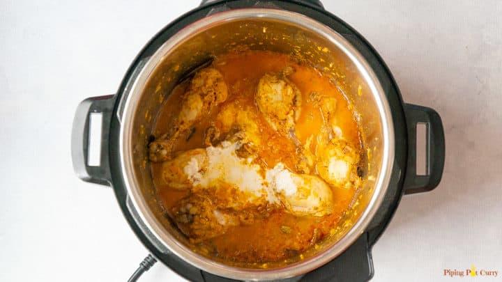 Chicken Korma - 3. Add cashew paste
