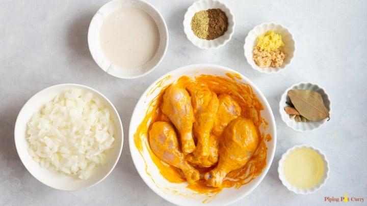 Chicken Korma - Marinate Chicken