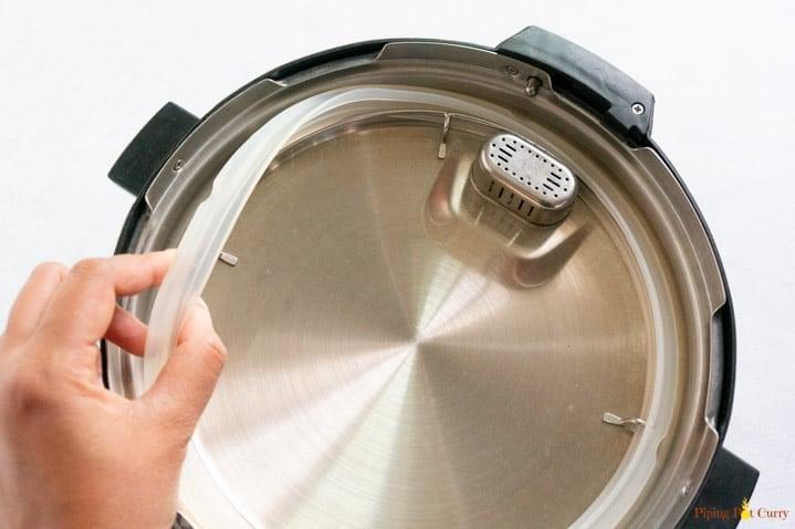 Instant Pot Setup - Sealing ring