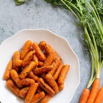 Garlic Herb Carrots Instant Pot
