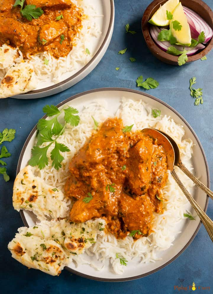 Instant Pot Chicken Tikka Masala Pressure Cooker Piping Pot Curry