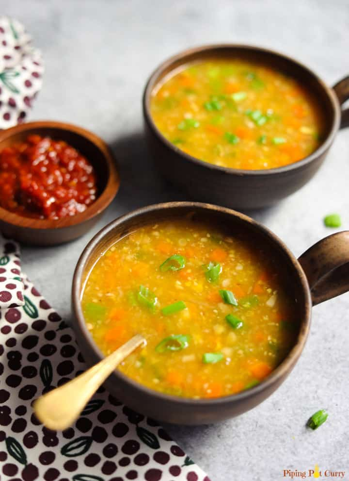 Sweet Corn Soup Recipe - Instant Pot