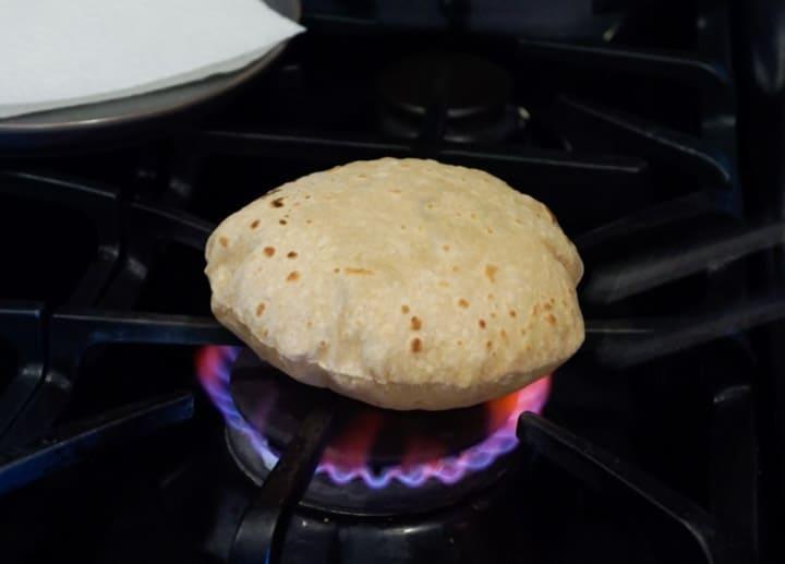 Roti - Chapati - Whole Wheat Indian Flatbread -Cook Roti