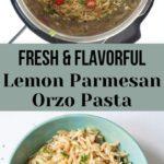 Easy Lemon Parmesan Orzo Pasta