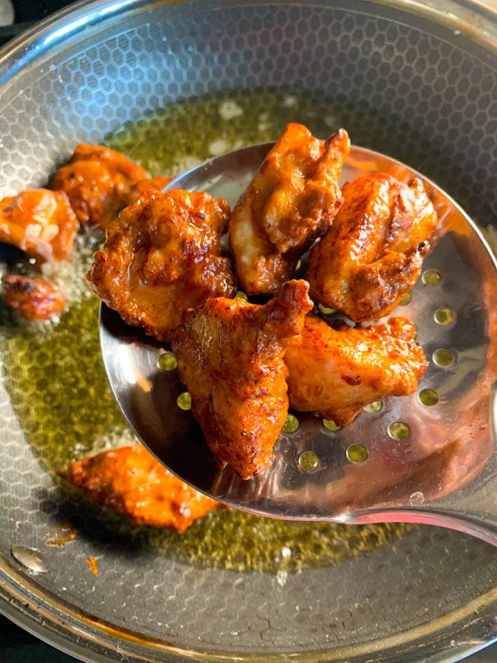 6. Fried Chicken to make Dry Chilli Chicken - Piping Pot Curry