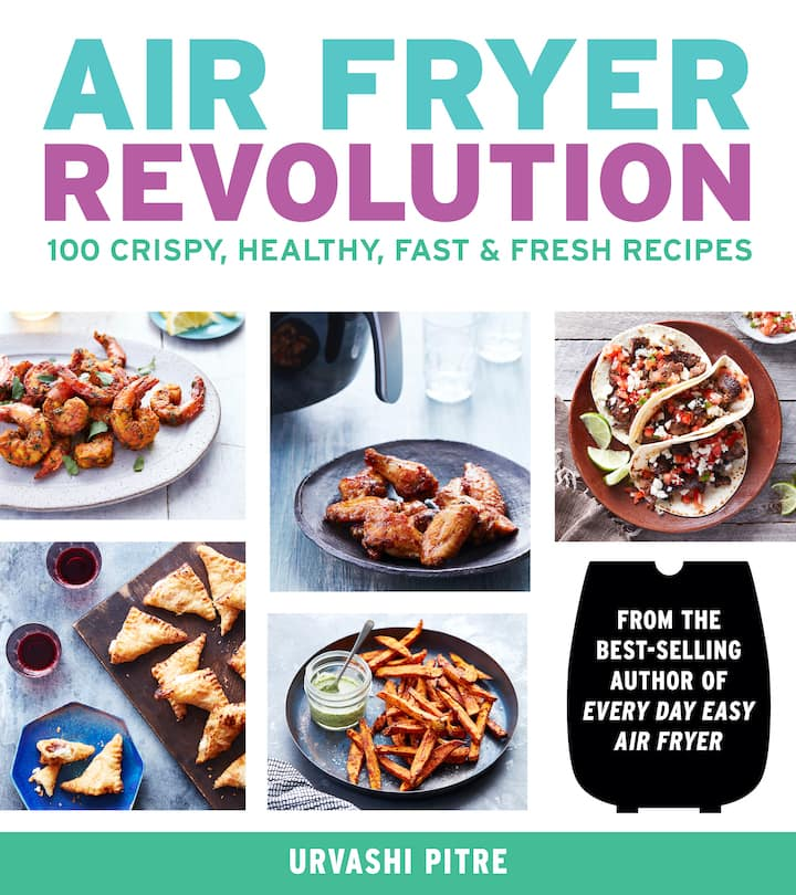 Air fryer revolution cookbook cover page