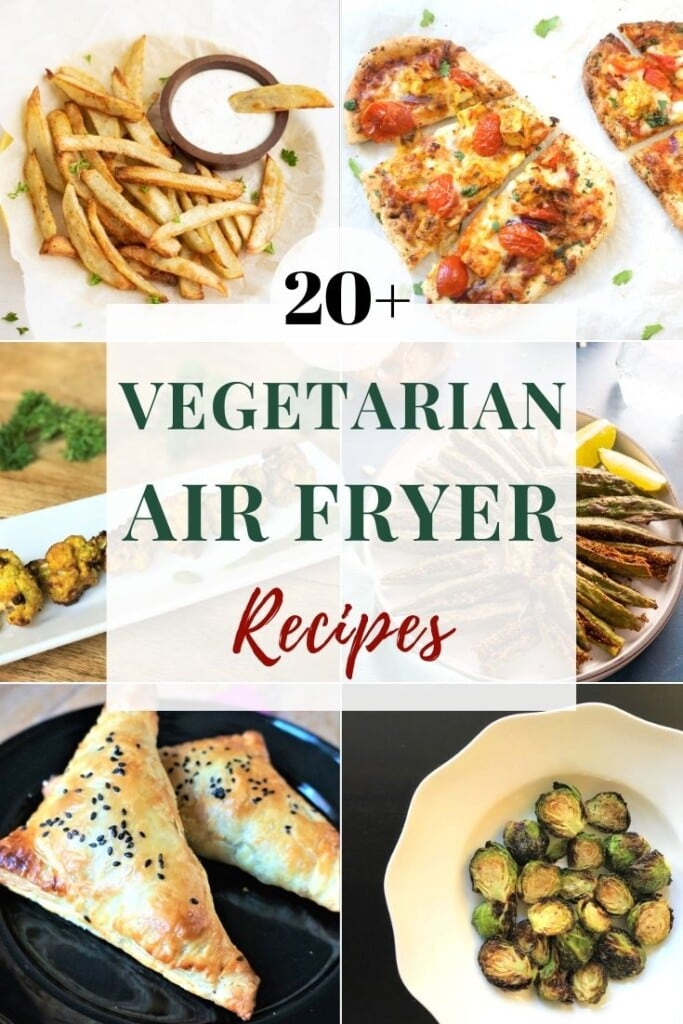 20+ Air fryer vegetarian recipes