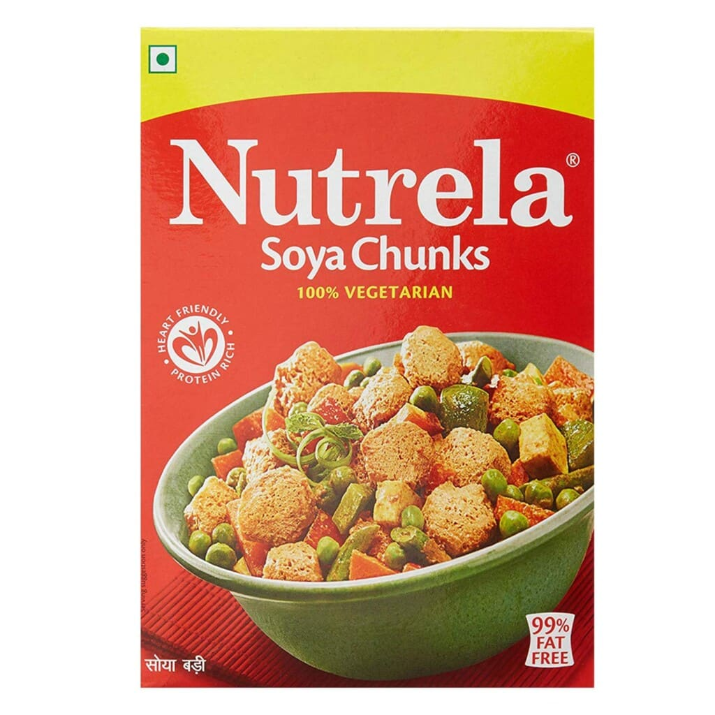 Nutrela High Protein Soya Chunks