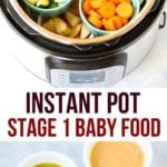 how to make instant pot baby food