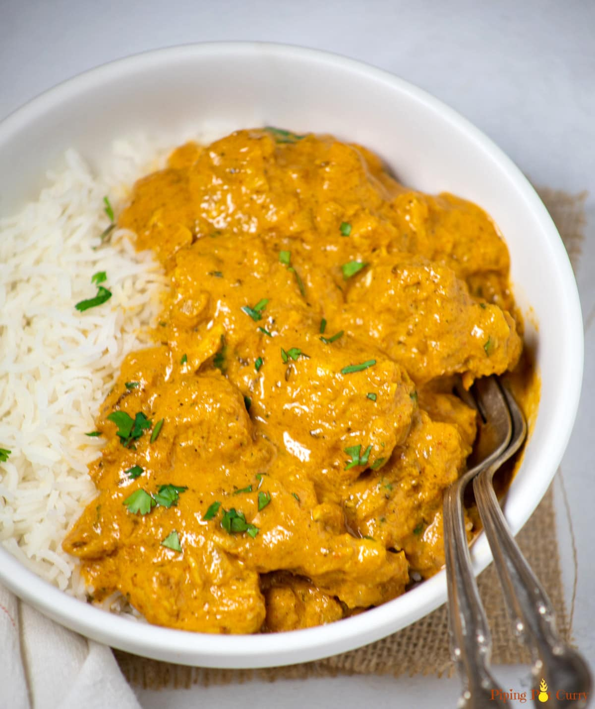 Easy Instant Pot Coconut Chicken Curry Piping Pot Curry