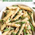 Easy 30-minute pasta with lemon and asparagus