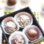 How to make easy Chocolate Ladoo