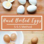 Easy hard boiled eggs