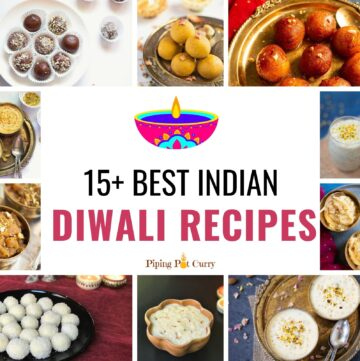 best indian Diwali recipes roundup collage