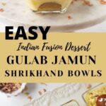 Gulab Jamun Shrikhand Bowls