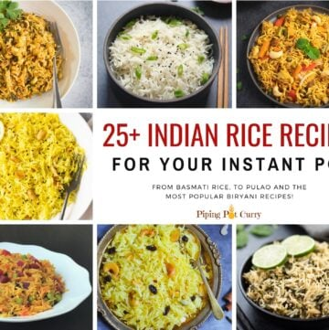 25+ Instant pot indian rice recipes