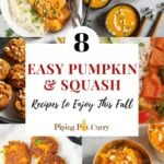 8 Easy Pumpkin & Squash Recipes