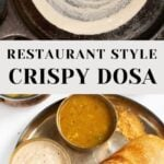 How to make dosa