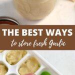 How to make garlic paste