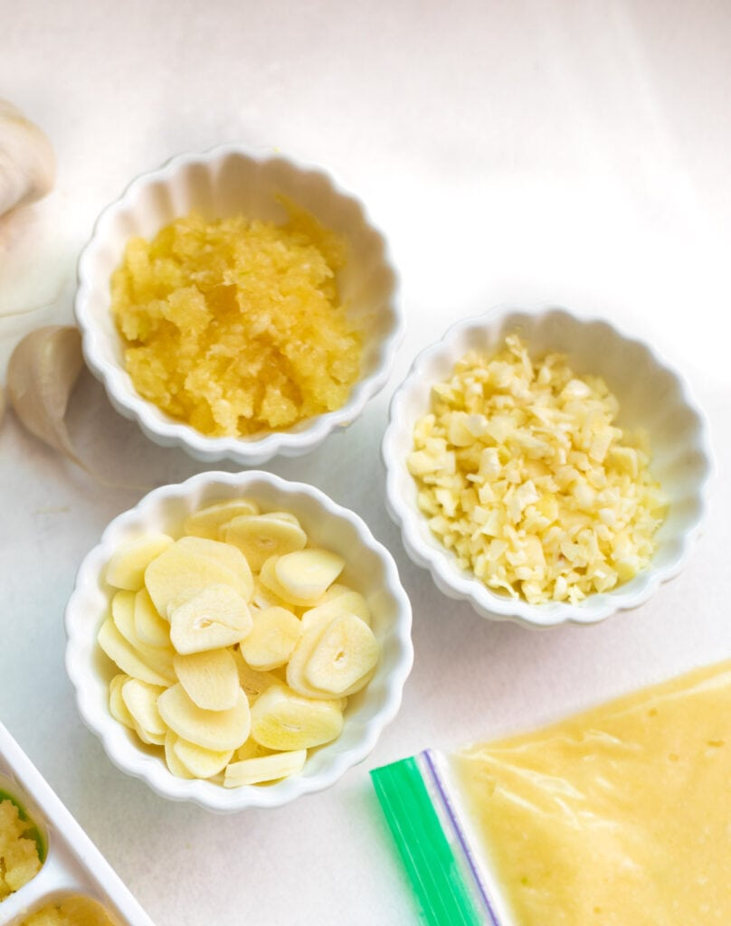 How to slice, chop and mince garlic